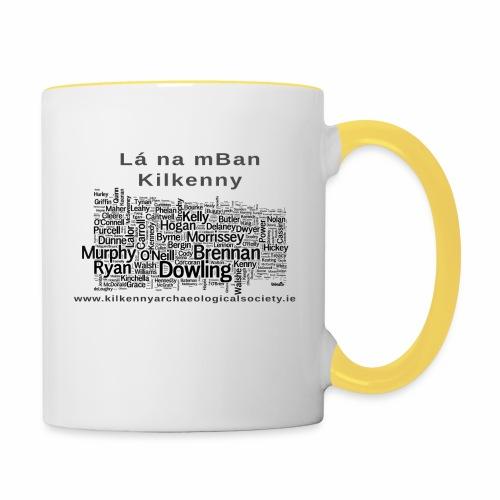 Lá na mBan black - Contrasting Mug