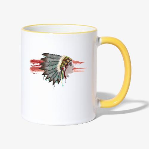Native american - Mug contrasté