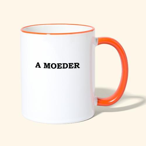 A Moeder - Mug contrasté