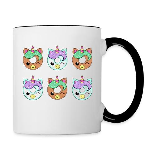 Unicorn Donut - Tazze bicolor