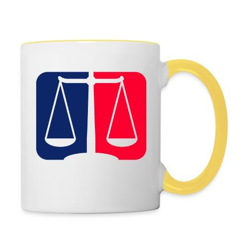 Logo2 - Tasse zweifarbig