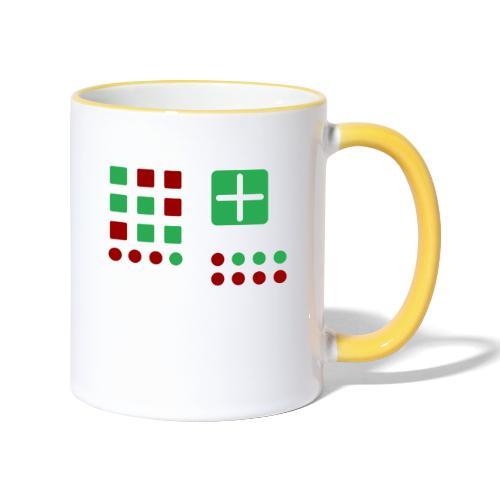 Classic Computer 2 - Tasse zweifarbig