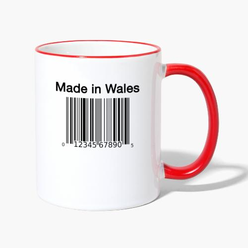 Made in Wales - Contrasting Mug