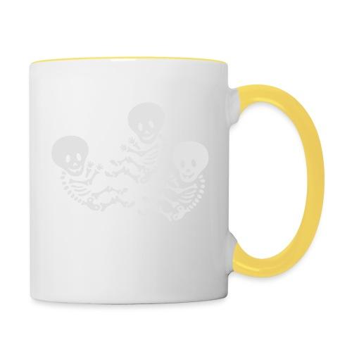 m triplets - Contrasting Mug