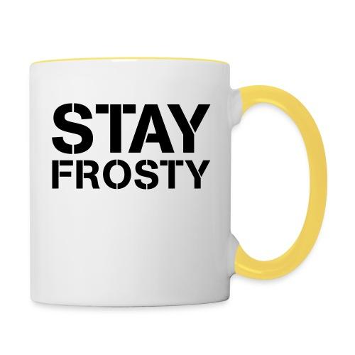 Stay Frosty - Contrasting Mug