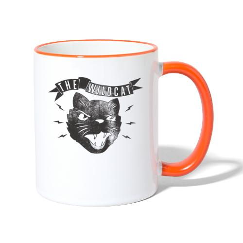 The Wildcat - Tasse zweifarbig
