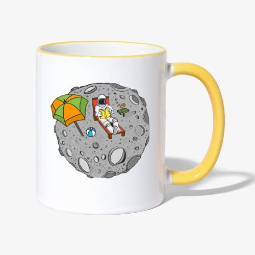 To the Moon - Mug contrasté