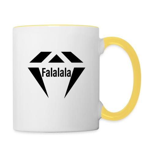J.O.B Diamant Falalala - Tasse zweifarbig