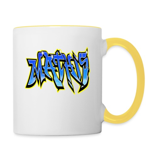 Graffiti Mathis - Mug contrasté