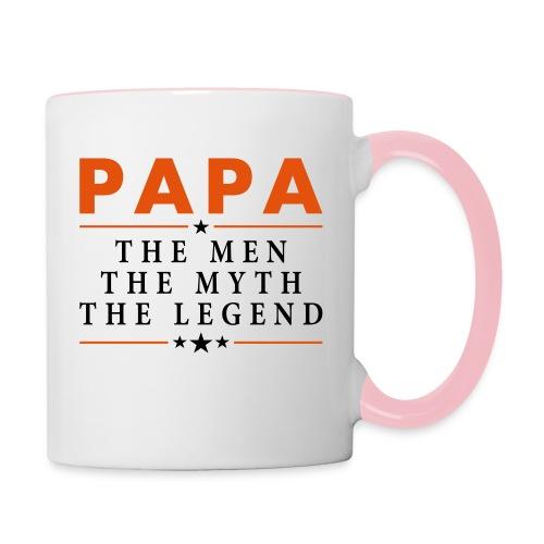 PAPA THE LEGEND - Contrasting Mug