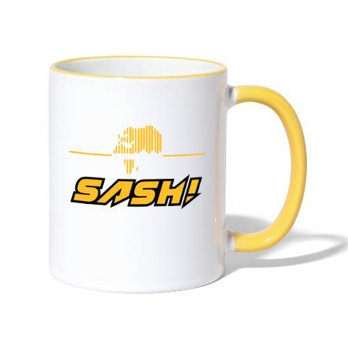 SASH! Logo 2020 Headfone - Contrasting Mug