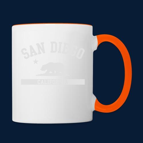 San Diego - Tasse zweifarbig