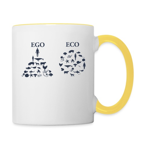 Ego VS Eco - Tazze bicolor