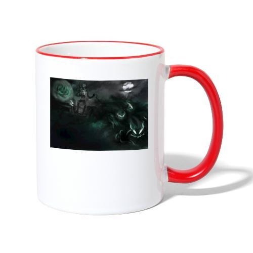 dark santa - Mug contrasté