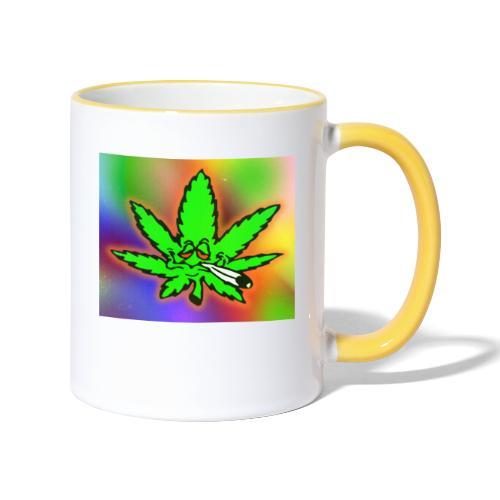 best weed - Kaksivärinen muki