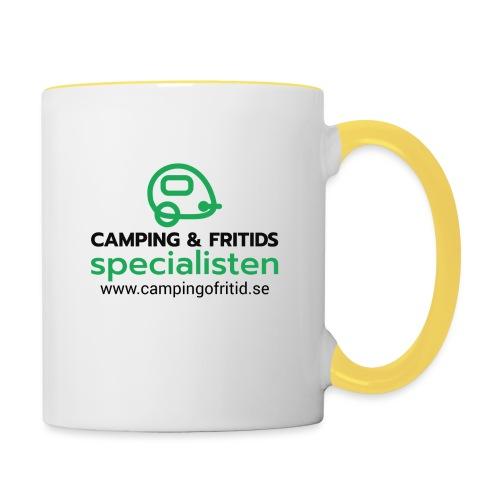 Camping & Fritidsspecialisten NEW 2020! - Tvåfärgad mugg