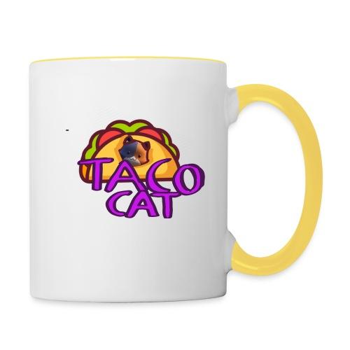 TACO CAT - Tvåfärgad mugg