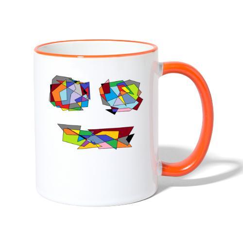 TheFace - Tasse zweifarbig