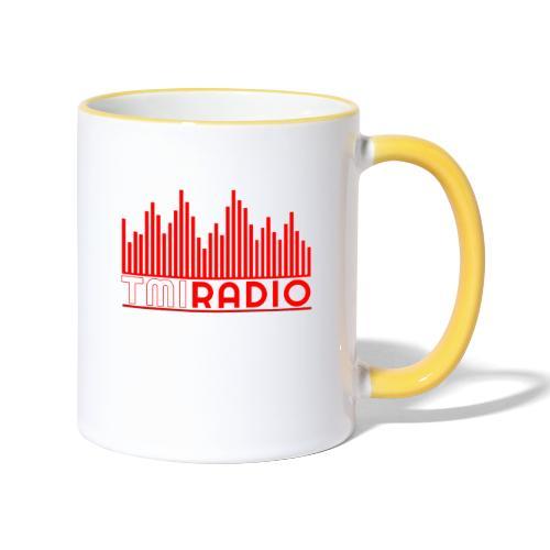 NEW TMI LOGO RED AND WHITE 2000 - Contrasting Mug