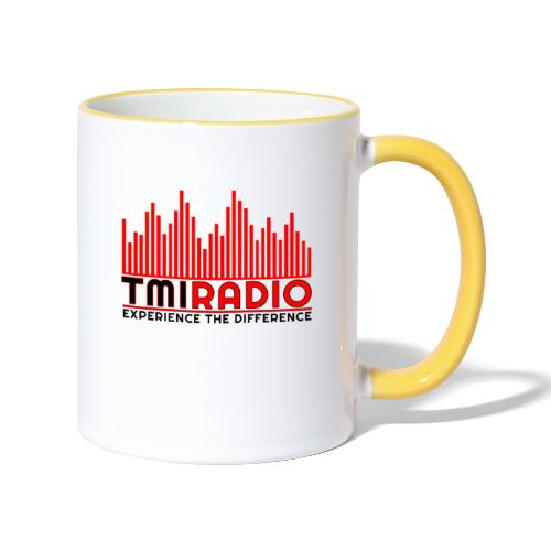NEW TMI LOGO RED AND BLACK 2000 - Contrasting Mug