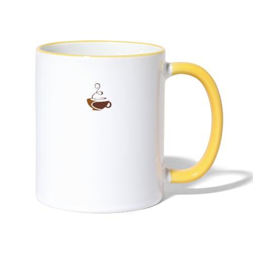 coffee - Tasse zweifarbig