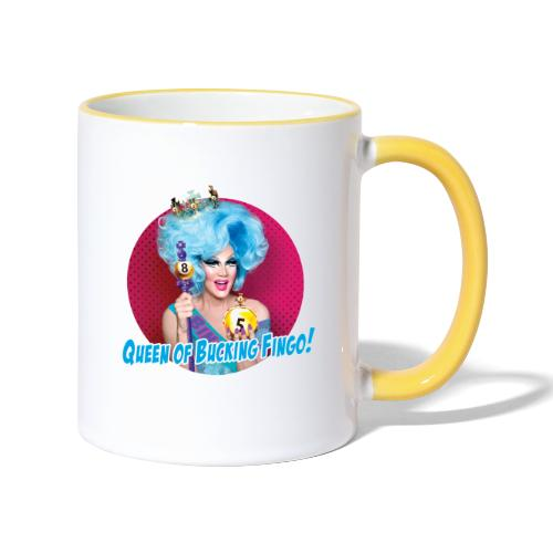 Queen of Bucking Fingo - Contrasting Mug
