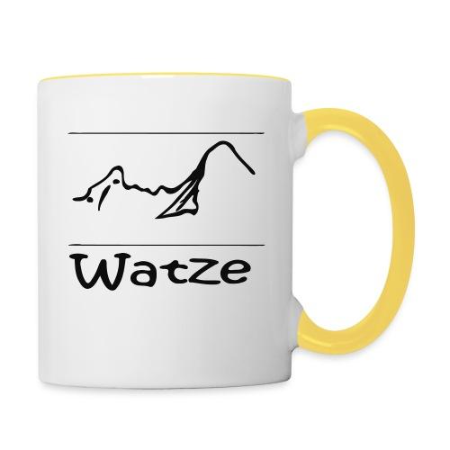Watze - Tasse zweifarbig