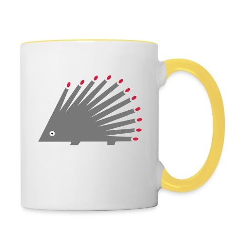 Hedgehog - Contrasting Mug