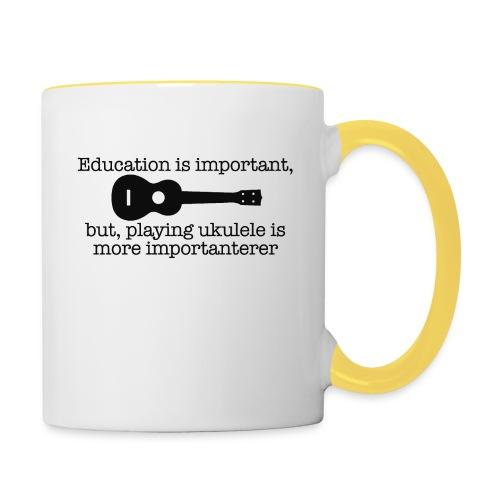 Important Ukulele - Contrasting Mug