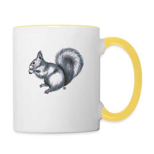Eichhörnchen - Tasse zweifarbig