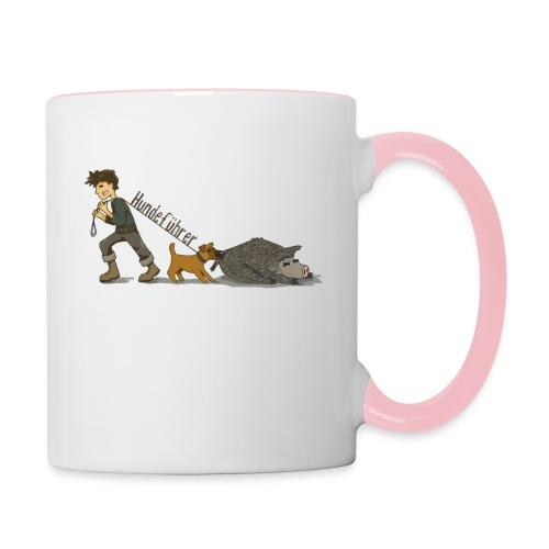 Hundeführer - Tasse zweifarbig