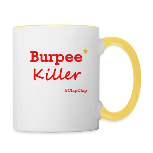Burpee Killer Stern - Tasse zweifarbig