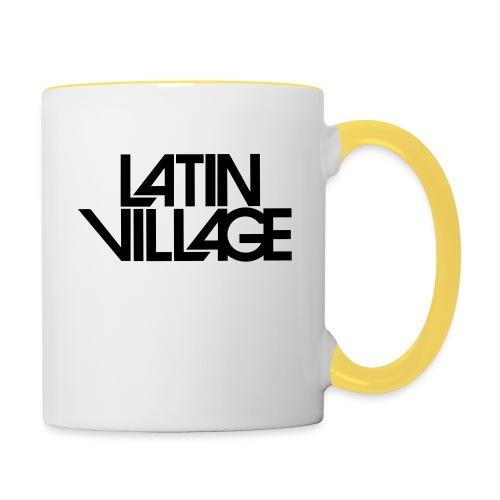 Logo Latin Village 30 - Mok tweekleurig