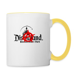 Anarchy ain't on sale(Dismaland unofficial gadget) - Contrasting Mug
