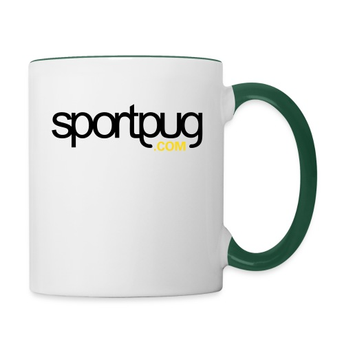 SportPug.com - Kaksivärinen muki