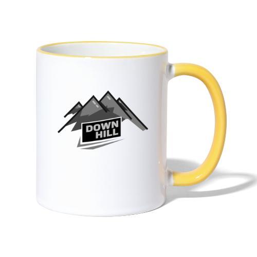 Downhill - Tasse zweifarbig