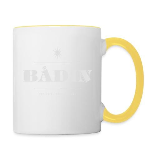 Bådin - white - Tofarget kopp