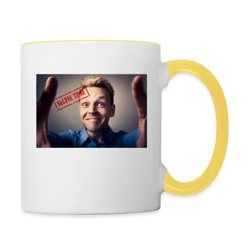 Selfy time - Contrasting Mug