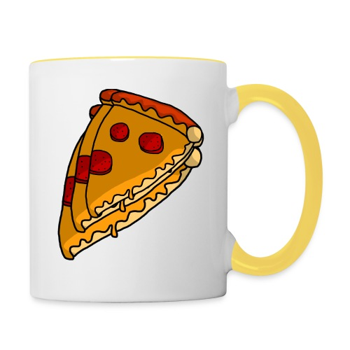 pizza - Tofarvet krus