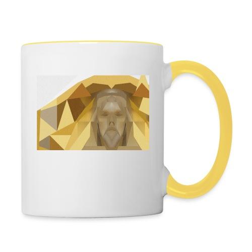 In awe of Jesus - Contrasting Mug