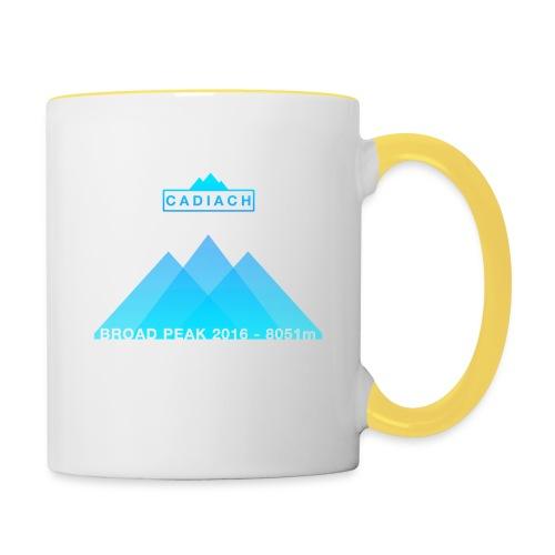 Cadiach Broad Peak 2016 - Hombre - Taza en dos colores