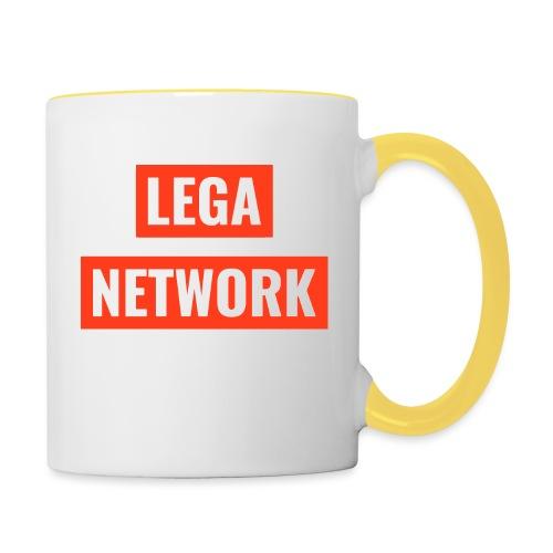 Logo Lega Network - Tazze bicolor