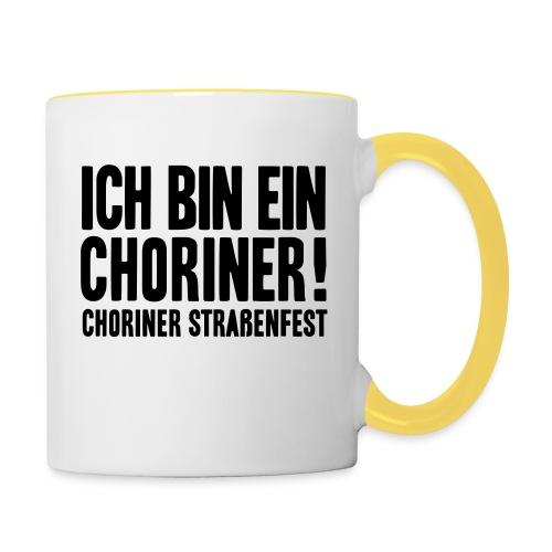 Ich bin ein Choriner! - Tasse zweifarbig