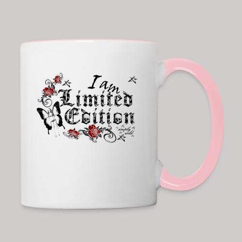 simply wild limited Edition on white - Tasse zweifarbig