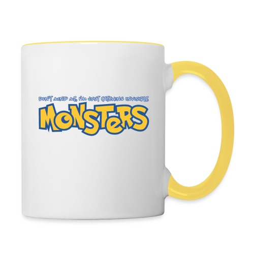 Monsters - Contrasting Mug
