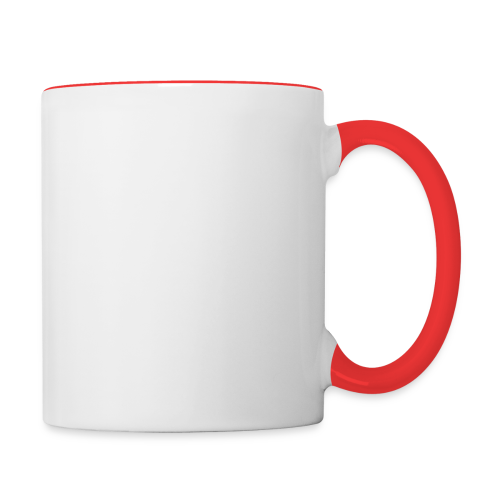 SkyHighLowFly - Men's Sweater - White - Contrasting Mug