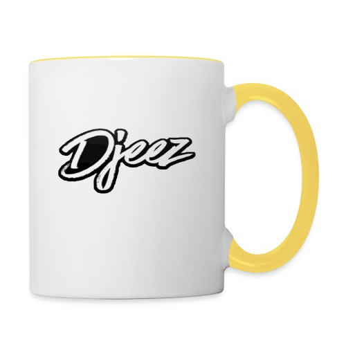 djeez_official_kleding - Mok tweekleurig