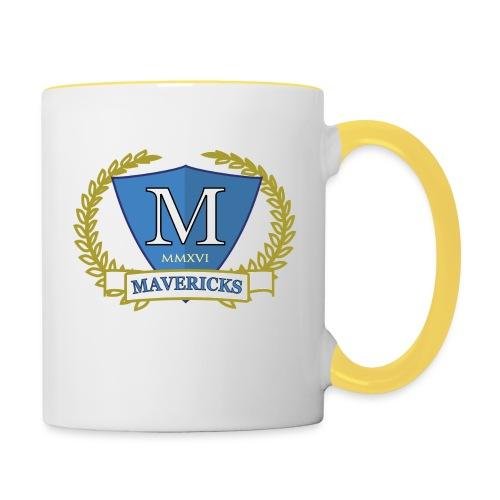 Mavericks_Club-_Stemma_Blue - Tazze bicolor