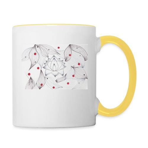 Lotus Dots - Tazze bicolor