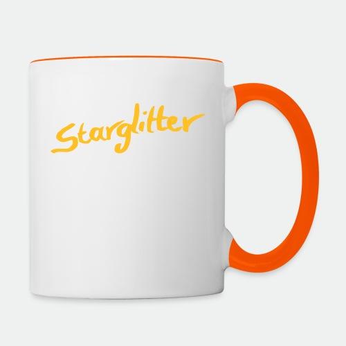 Starglitter - Lettering - Contrasting Mug